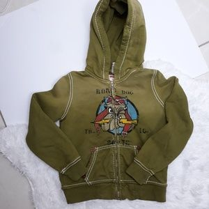 True Religion Road Dog Unisex Hoodie Jacket